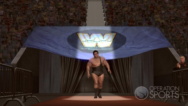 WWE Legends Of Wrestlemania Screenshot #1 for Xbox 360
