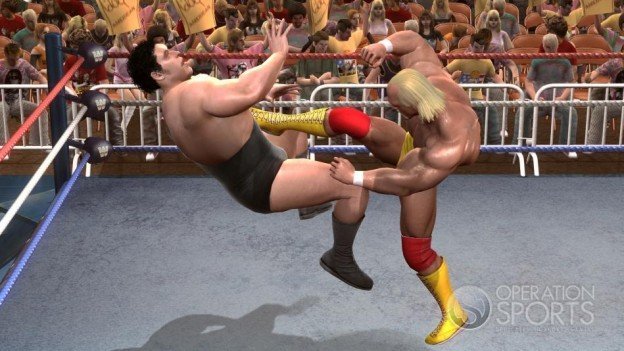 WWE Legends Of Wrestlemania Screenshot #2 for Xbox 360