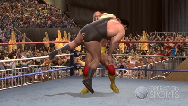 WWE Legends Of Wrestlemania Screenshot #3 for Xbox 360