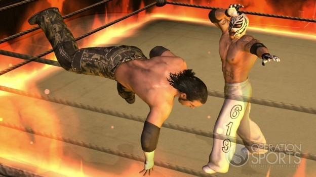 WWE Smackdown! vs. Raw 2009 Screenshot #2 for Xbox 360