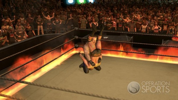 WWE Smackdown! vs. Raw 2009 Screenshot #11 for Xbox 360