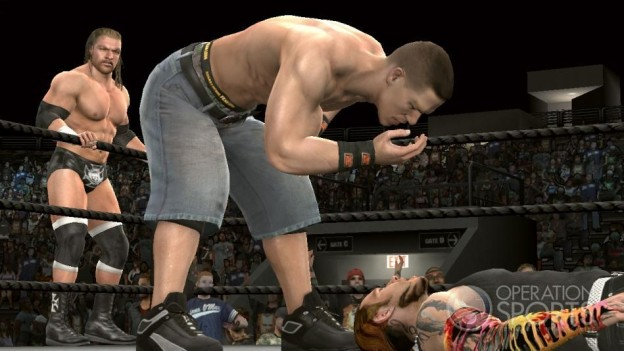 WWE Smackdown! vs. Raw 2009 Screenshot #3 for PS3
