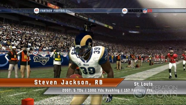 EA Sports Fantasy Football Screenshot #6 for Xbox 360