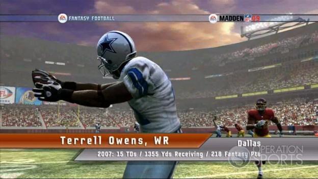 EA Sports Fantasy Football Screenshot #8 for Xbox 360