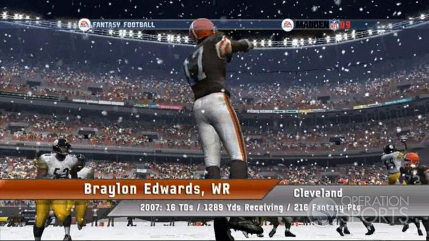 EA Sports Fantasy Football Screenshot #9 for Xbox 360