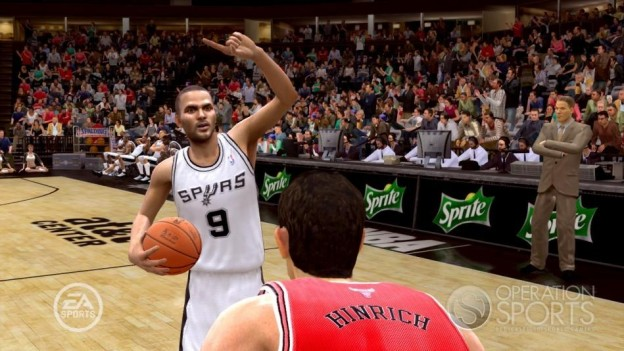 NBA Live 09 Screenshot #43 for Xbox 360