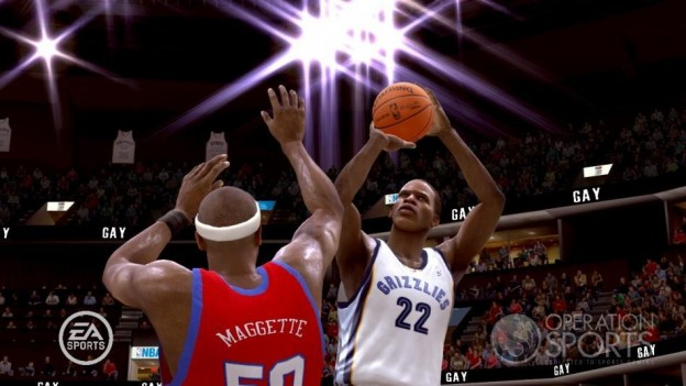 NBA Live 09 Screenshot #46 for Xbox 360