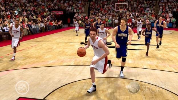 NBA Live 09 Screenshot #49 for Xbox 360