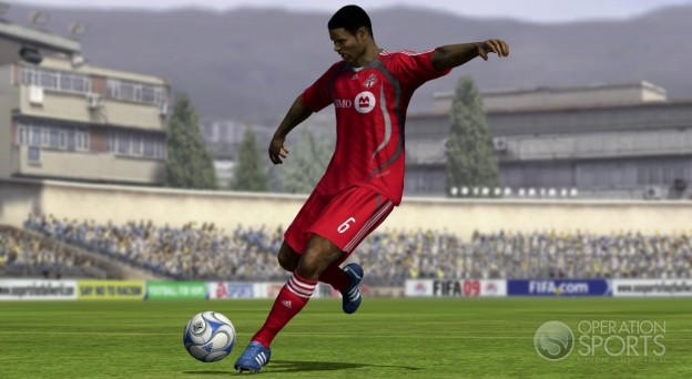FIFA Soccer 09 Screenshot #2 for PS3