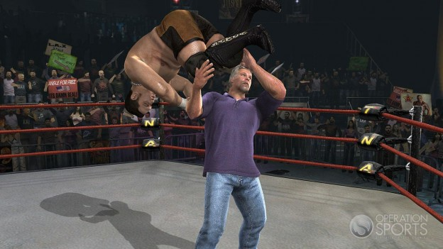 TNA iMPACT! Screenshot #26 for Xbox 360