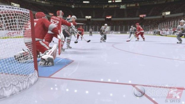 NHL 2K9 Screenshot #6 for Xbox 360