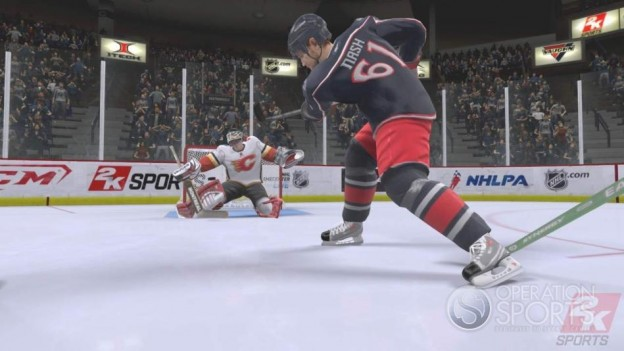 NHL 2K9 Screenshot #8 for Xbox 360
