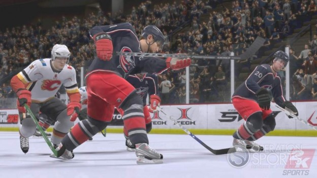 NHL 2K9 Screenshot #9 for Xbox 360