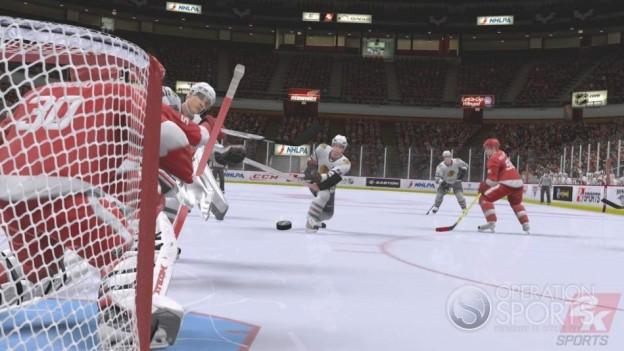 NHL 2K9 Screenshot #10 for Xbox 360