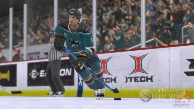 NHL 2K9 Screenshot #18 for Xbox 360