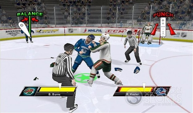 NHL 2K9 Screenshot #20 for Wii