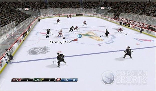 NHL 2K9 Screenshot #21 for Wii