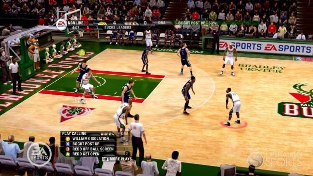 NBA Live 09 Screenshot #52 for Xbox 360