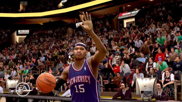 NBA Live 09 Screenshot #53 for Xbox 360