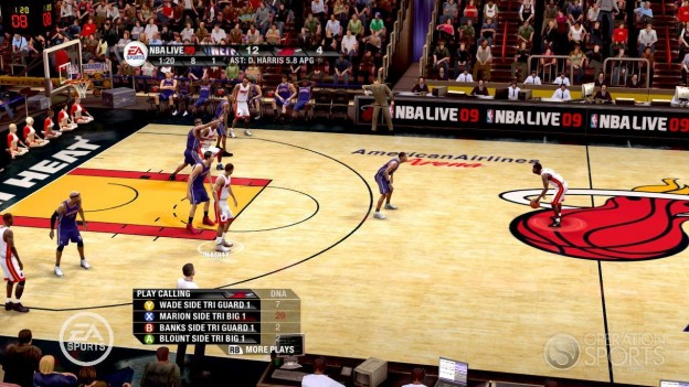 NBA Live 09 Screenshot #54 for Xbox 360