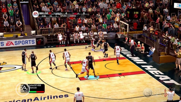 NBA Live 09 Screenshot #61 for Xbox 360