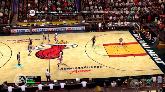 NBA Live 09 Screenshot #64 for Xbox 360