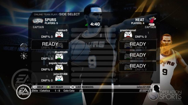 NBA Live 09 Screenshot #67 for Xbox 360