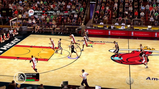 NBA Live 09 Screenshot #68 for Xbox 360