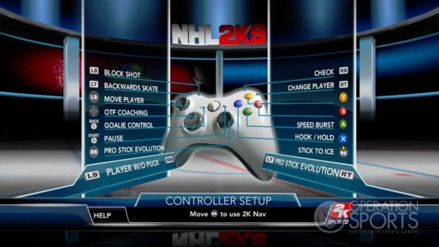 NHL 2K9 Screenshot #24 for Xbox 360