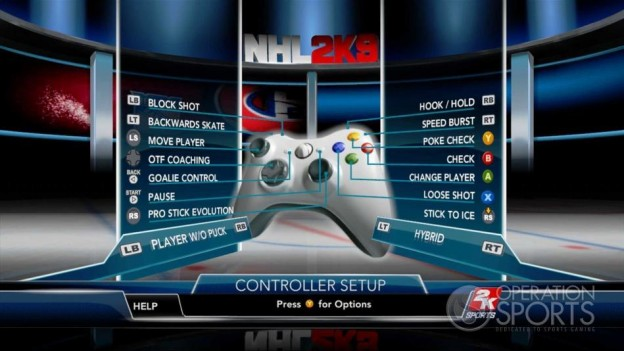 NHL 2K9 Screenshot #26 for Xbox 360