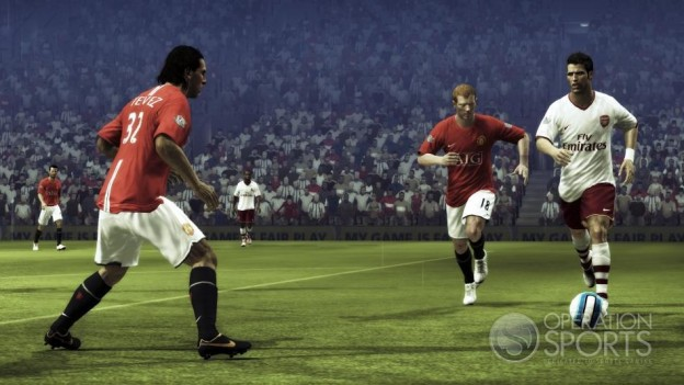 FIFA Soccer 09 Screenshot #3 for PS3