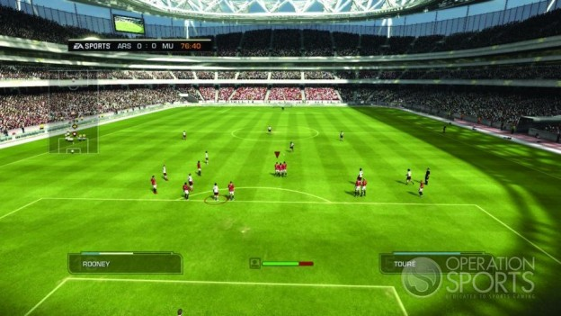FIFA Soccer 09 Screenshot #4 for PS3