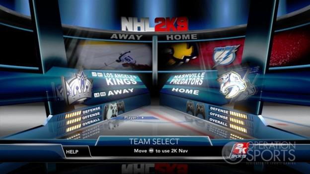NHL 2K9 Screenshot #38 for Xbox 360