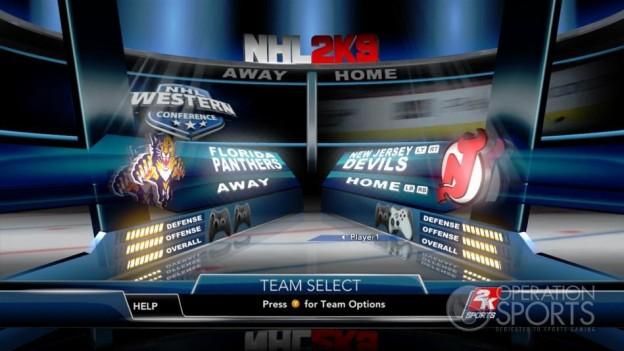 NHL 2K9 Screenshot #39 for Xbox 360