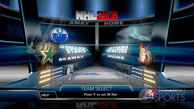 NHL 2K9 Screenshot #42 for Xbox 360