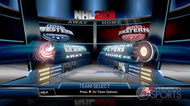 NHL 2K9 Screenshot #43 for Xbox 360