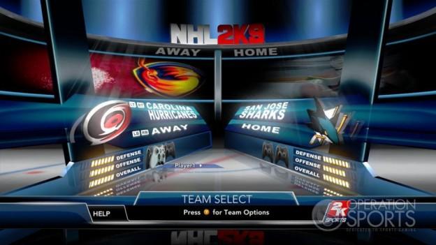 NHL 2K9 Screenshot #46 for Xbox 360