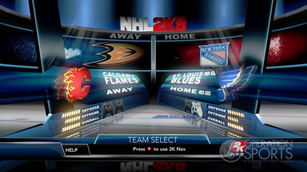 NHL 2K9 Screenshot #47 for Xbox 360