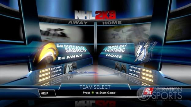 NHL 2K9 Screenshot #48 for Xbox 360