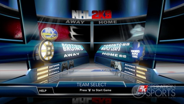 NHL 2K9 Screenshot #49 for Xbox 360