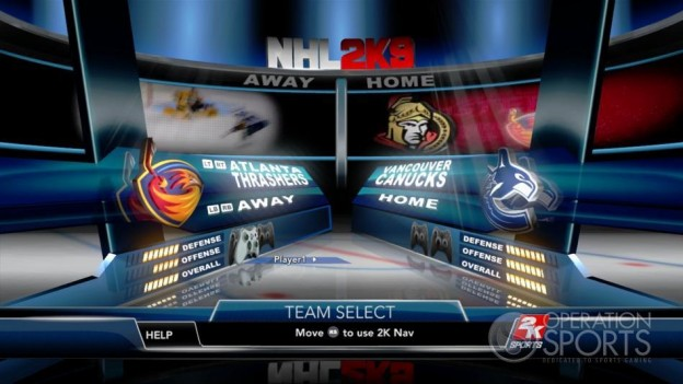 NHL 2K9 Screenshot #50 for Xbox 360