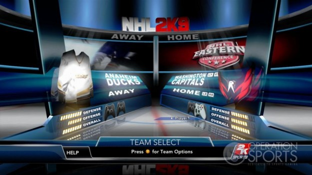 NHL 2K9 Screenshot #51 for Xbox 360