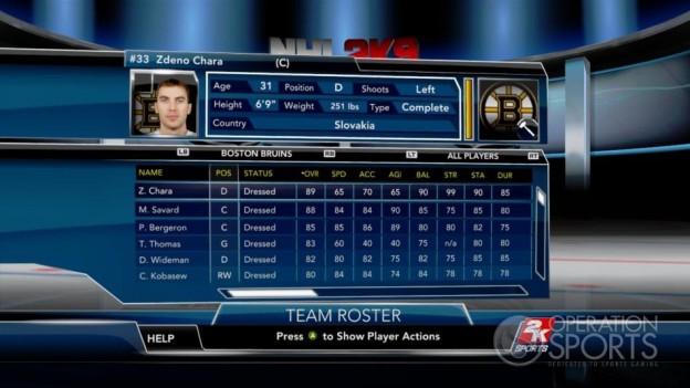 NHL 2K9 Screenshot #79 for Xbox 360