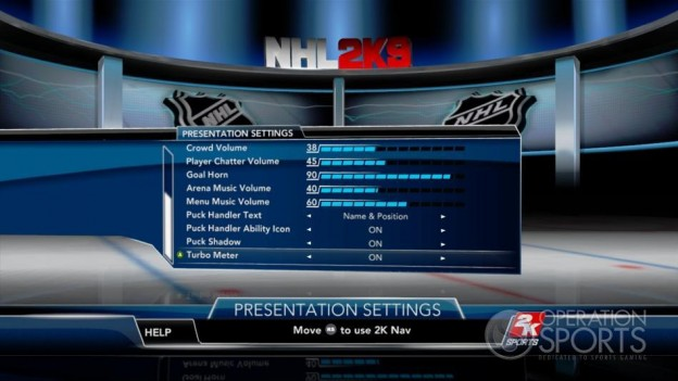 NHL 2K9 Screenshot #92 for Xbox 360