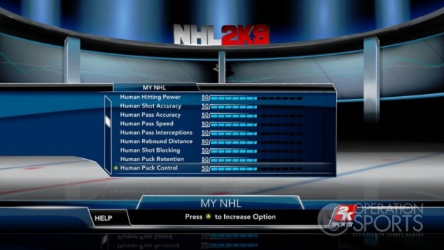 NHL 2K9 Screenshot #100 for Xbox 360