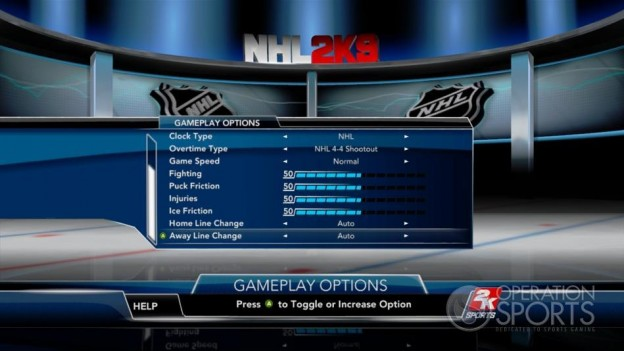 NHL 2K9 Screenshot #102 for Xbox 360