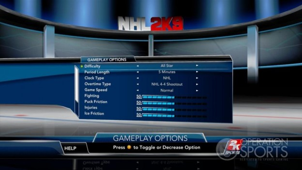 NHL 2K9 Screenshot #103 for Xbox 360