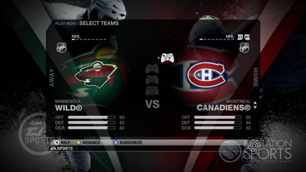 NHL 09 Screenshot #31 for Xbox 360