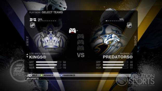 NHL 09 Screenshot #32 for Xbox 360