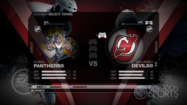 NHL 09 Screenshot #33 for Xbox 360